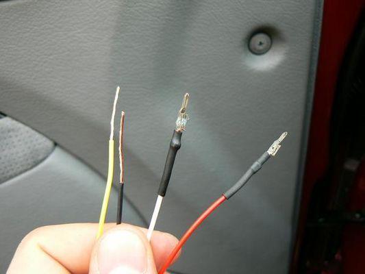 Зачистил провода